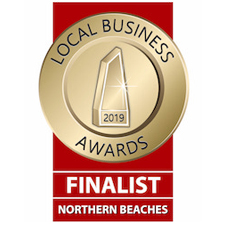 Local Business Awards Finalist Northern beaches 2019